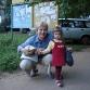 Внучка Аня и бабушка Рая