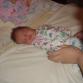 Внучка Аня - первый год