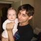 Внучка Аня и племянник Алан