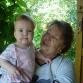Внучка Аня и прабабушка