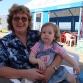 Внучка Аня и бабушка Таня