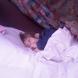 Наша киска - внучка Аня