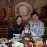 День рождения внучки Ани и меня