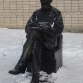 Памятник Циолковскому около Дома Творчества
