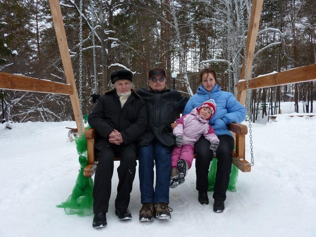 Четыре поколения клана Семеновых