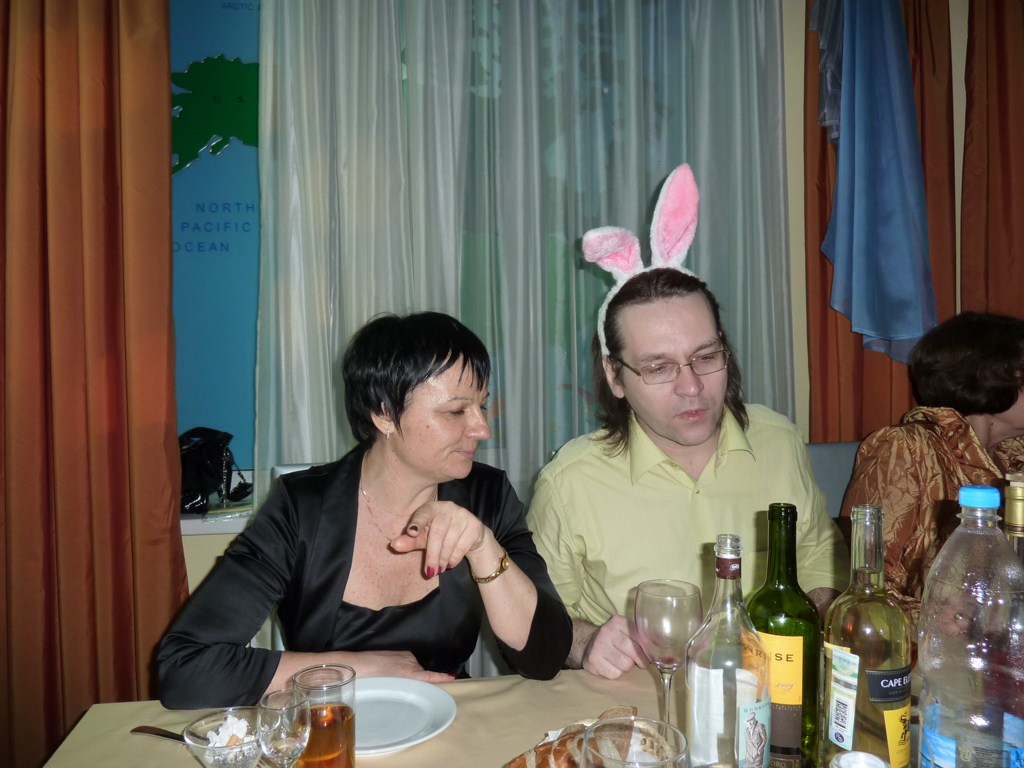 Встреча сотрудников кафедры КС в МИРе