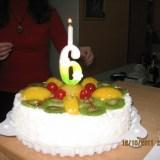 Шестой день рождения