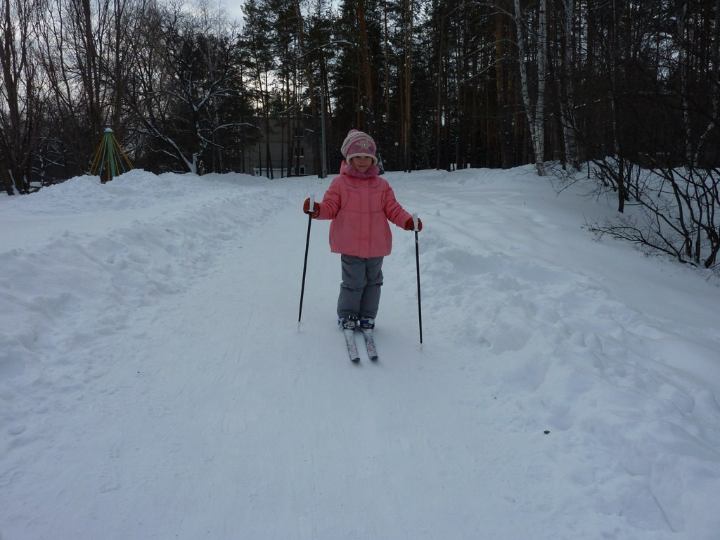 На лыжной тропе