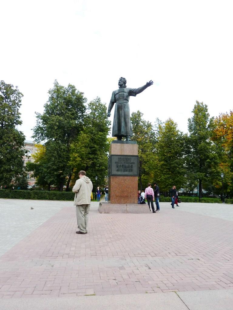 Нижний Новгород, памятник Минину