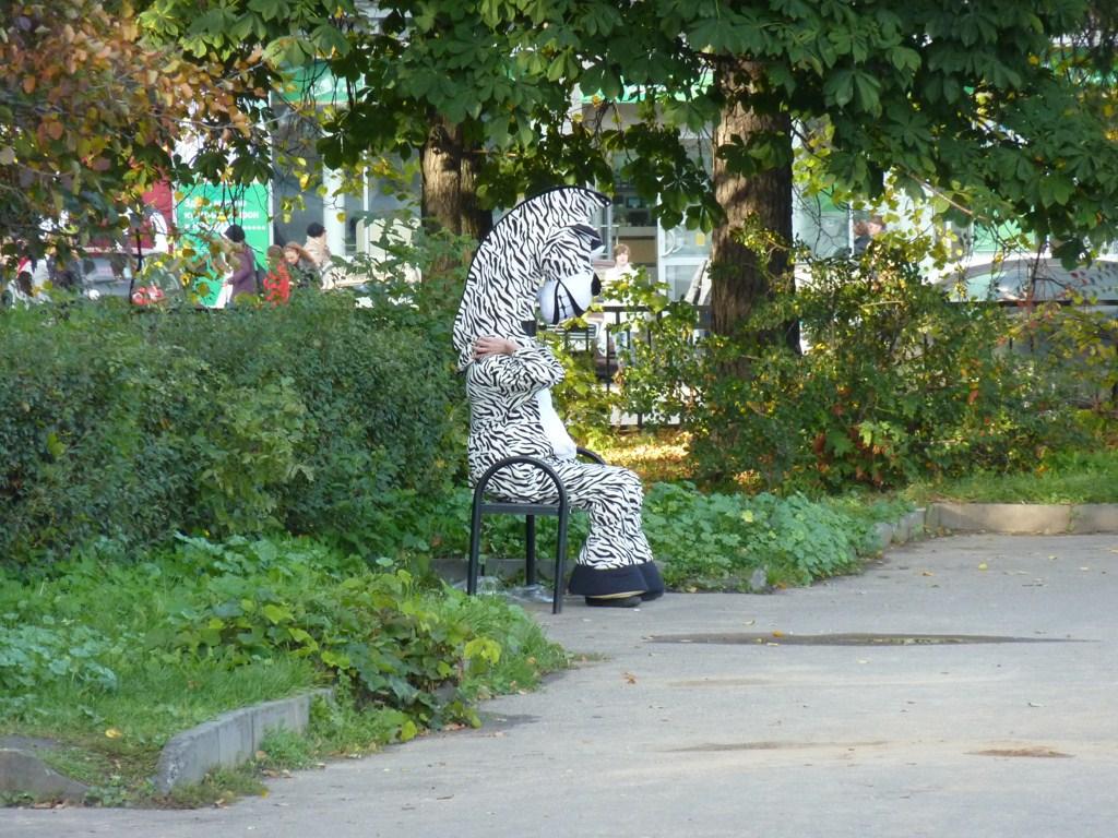 Нижний Новгород, аццкое жывотное