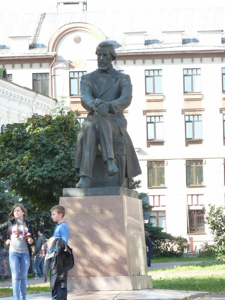 Нижний Новгород, памятник Н. А. Добролюбову