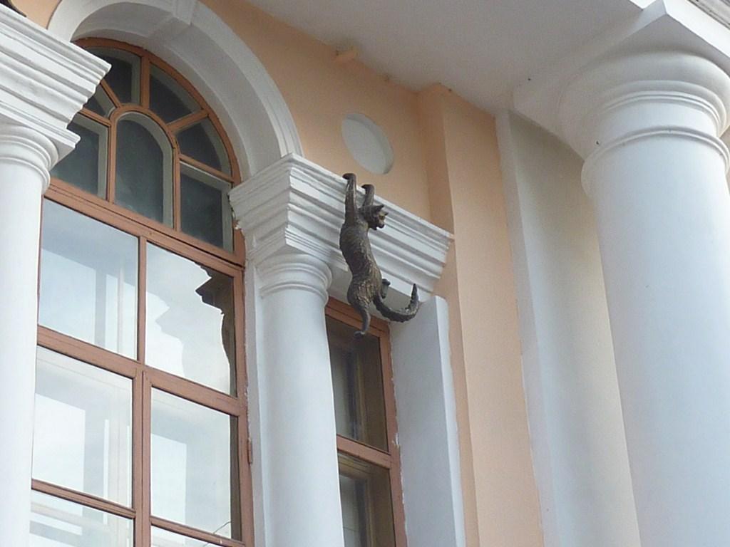Нижний Новгород, улица Большая Покровская, киска