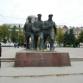 Нижний Новгород, монумент героям Волжской военной флотилии