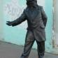 Нижний Новгород, улица Большая Покровская, скульптура «Добро пожаловать!»