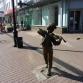 Нижний Новгород, улица Большая Покровская, скульптура «Маленький скрипач»