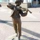 Нижний Новгород, улица Нижний Новгород, улица Большая Покровская, скульптура «Маленький скрипач»