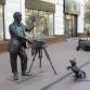 Нижний Новгород, улица Большая Покровская, скульптура «Фотограф»