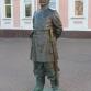Нижний Новгород, улица Большая Покровская, скульптура «Городовой»