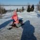Зимой на набережной