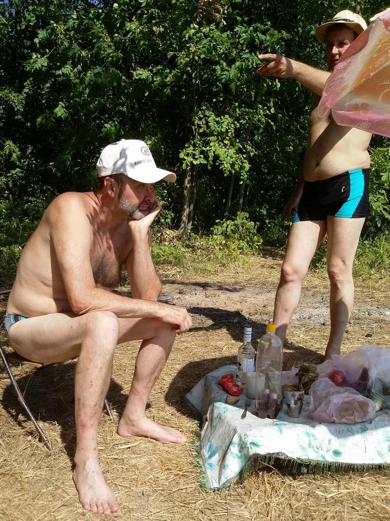 На выходе из Шелехметской протоки в Волгу  30.07.2014-3.08.2014